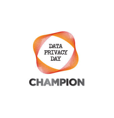 DPD Champion logo with orange square