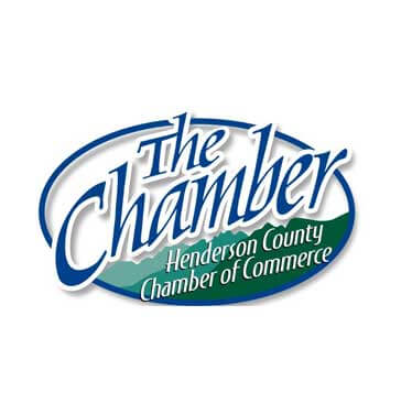 henderson county chamber logo blue and green