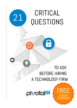 Free Ebook Download_21 Questions to ask before hiring a technology firm