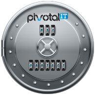 silver locked vault pivotal it breach prevention logo
