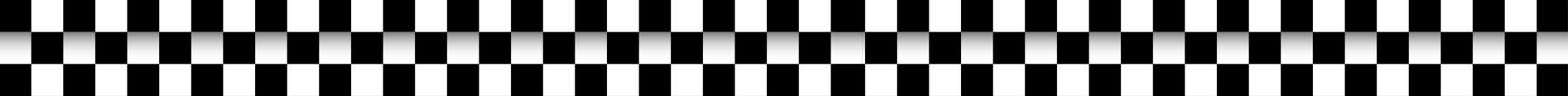 black and white race flag border