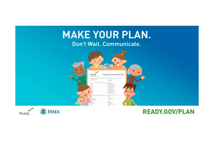 FEMA make your plan image