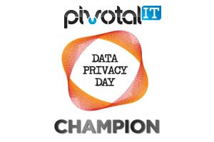 Data Privacy Day Champion Logo Orange
