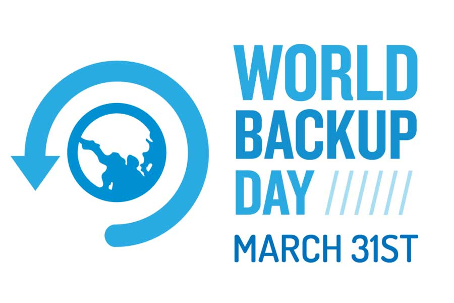 world backup day 2019 logo