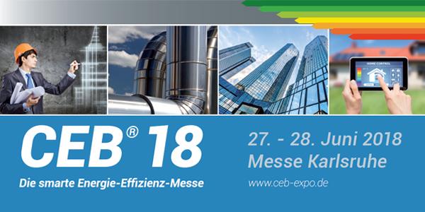CEB 2018 /  27.-28. Juni 2018 / Messe Karsruhe