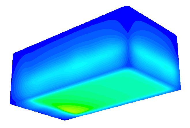 CFD-Strömungssimulation: Verbesserte Temperaturverteilung nach der Optimierung