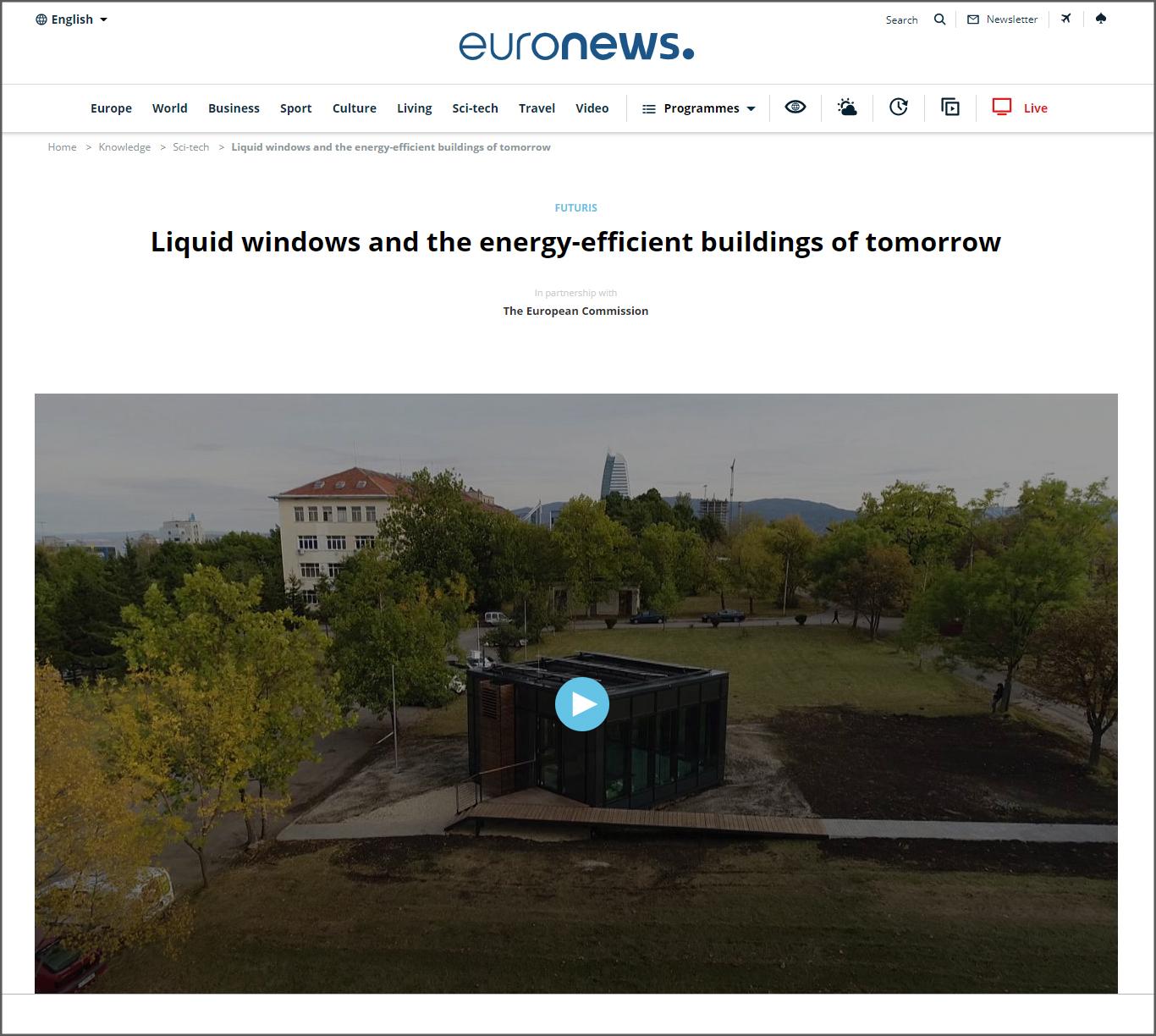 Weiterleitung zum Bericht auf Euronews