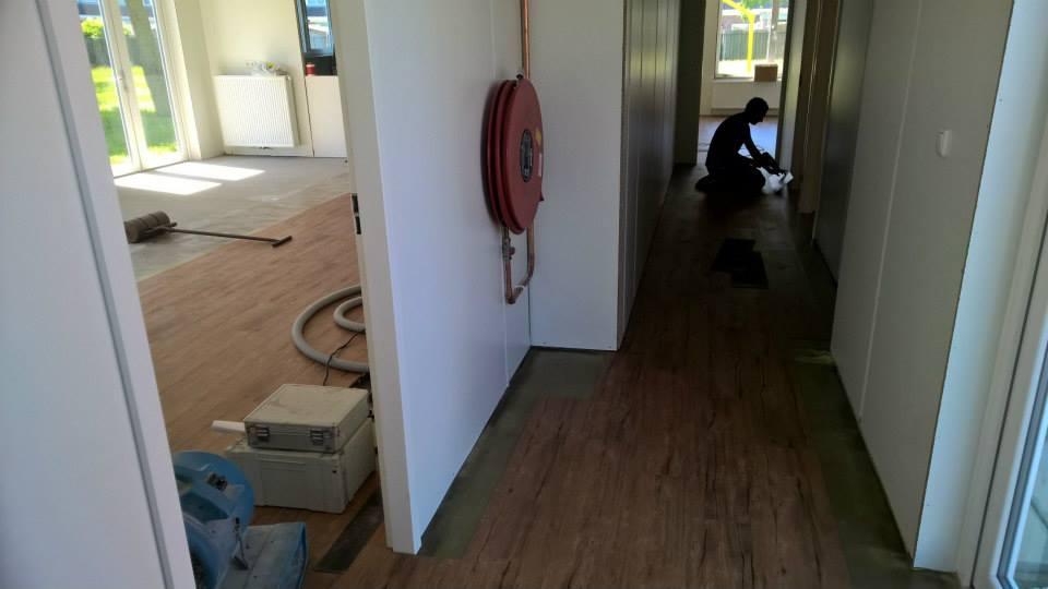 Een PVC Vloer voor Buurthuis de Overzet uit Den Helder