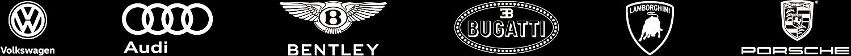 VW Brand Logos