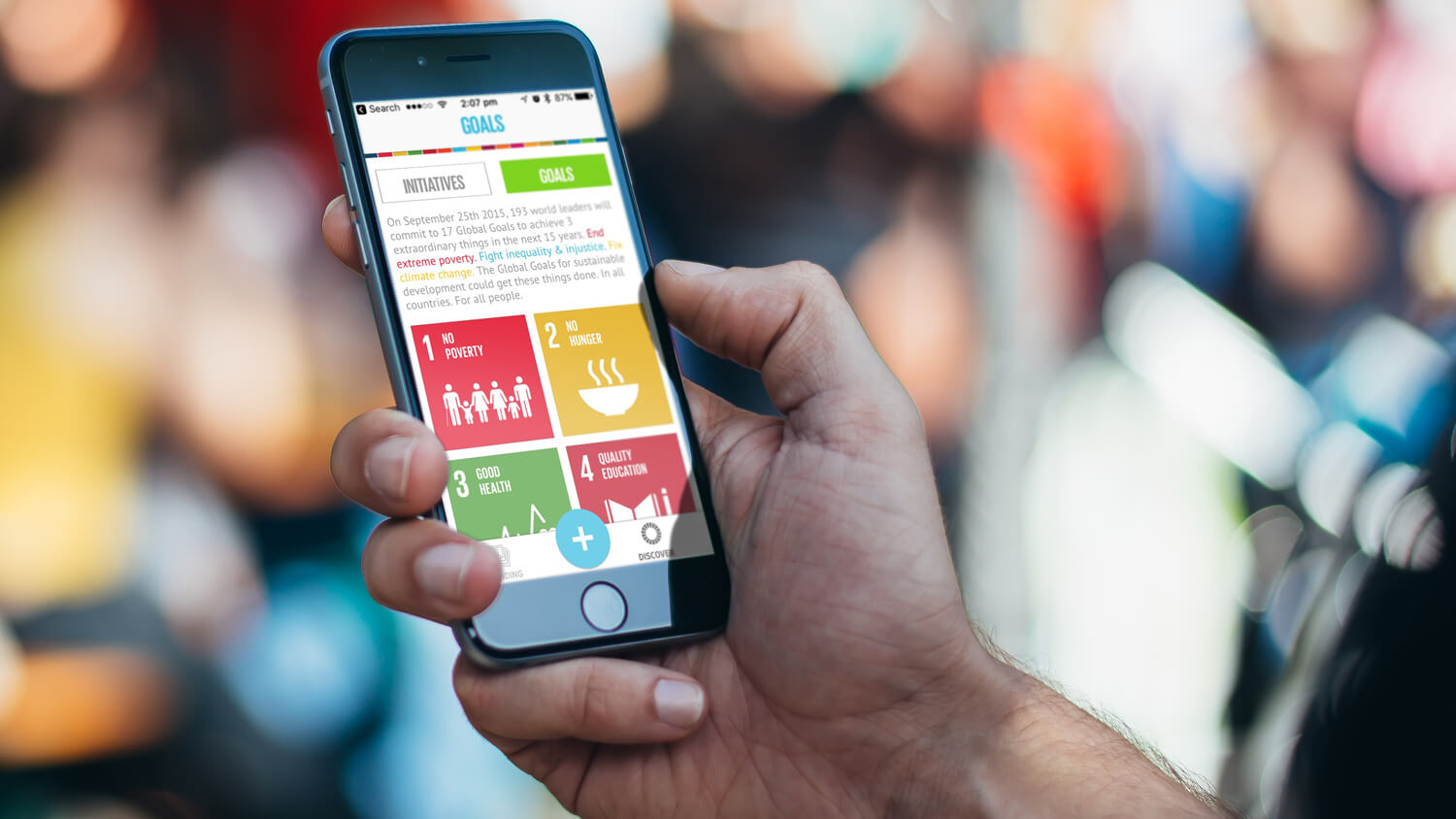Global Goals app for the United Nations