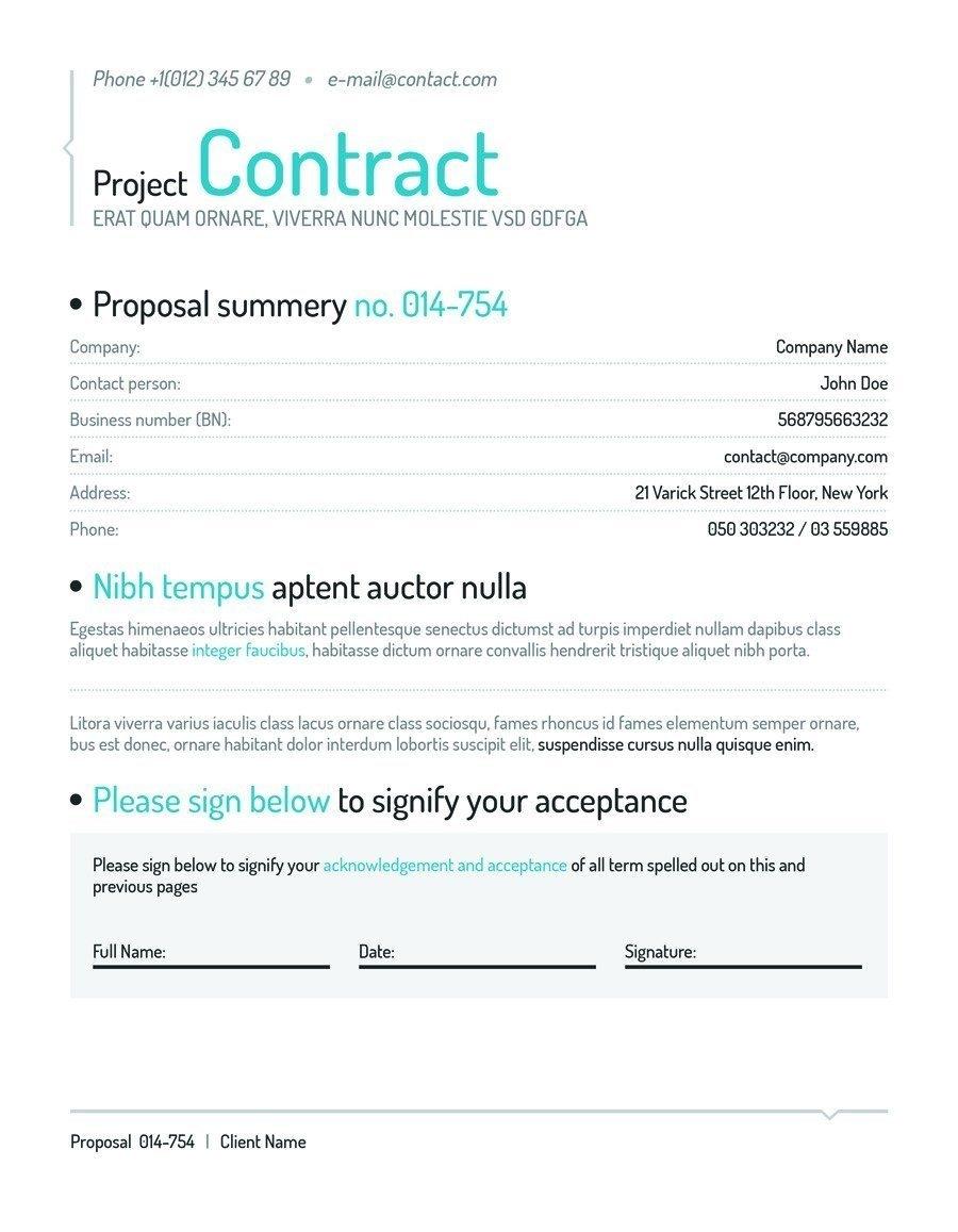 Template] Social Media Contract - Bonsai