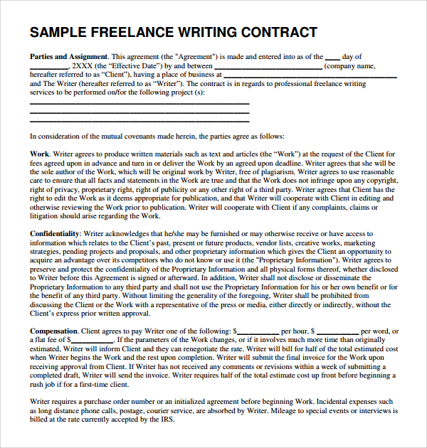 Get A Content Writing Proposal Sample That Will Help You Land High