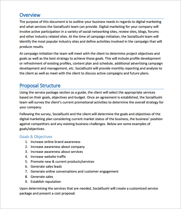 Digital Marketing Agency Proposal (Download)