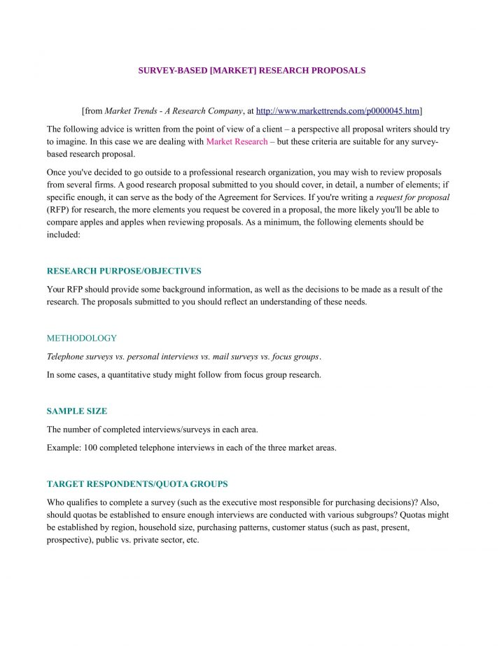 Generate And Download A Marketing Research Proposal Bonsai