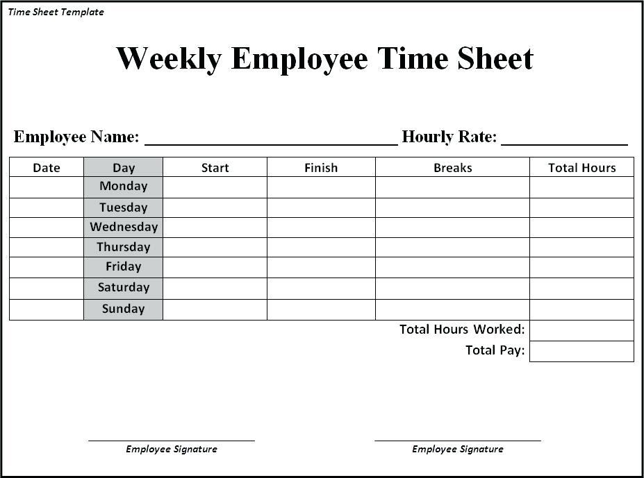 download timesheet example bonsai