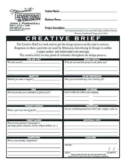 Download Marketing Campaign Brief (Template) - Bonsai