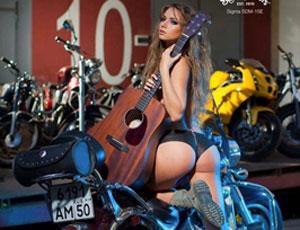 Съемка для календаря журнала музыкальных инструментов