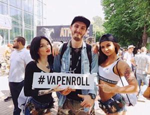 Выставка VapeExpo   VAPENROLL