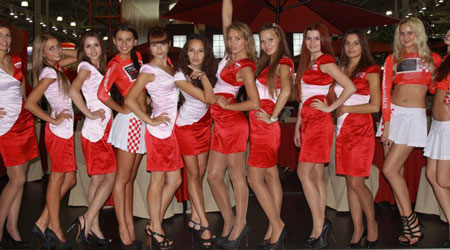 Заказать промо моделей на мероприятие в Москве
