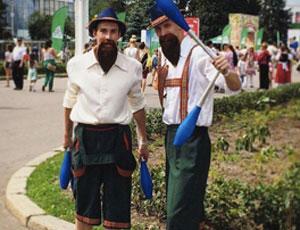 Das Fest   Аниматоры, жонглеры, ходулисты, танцоры и фокусники