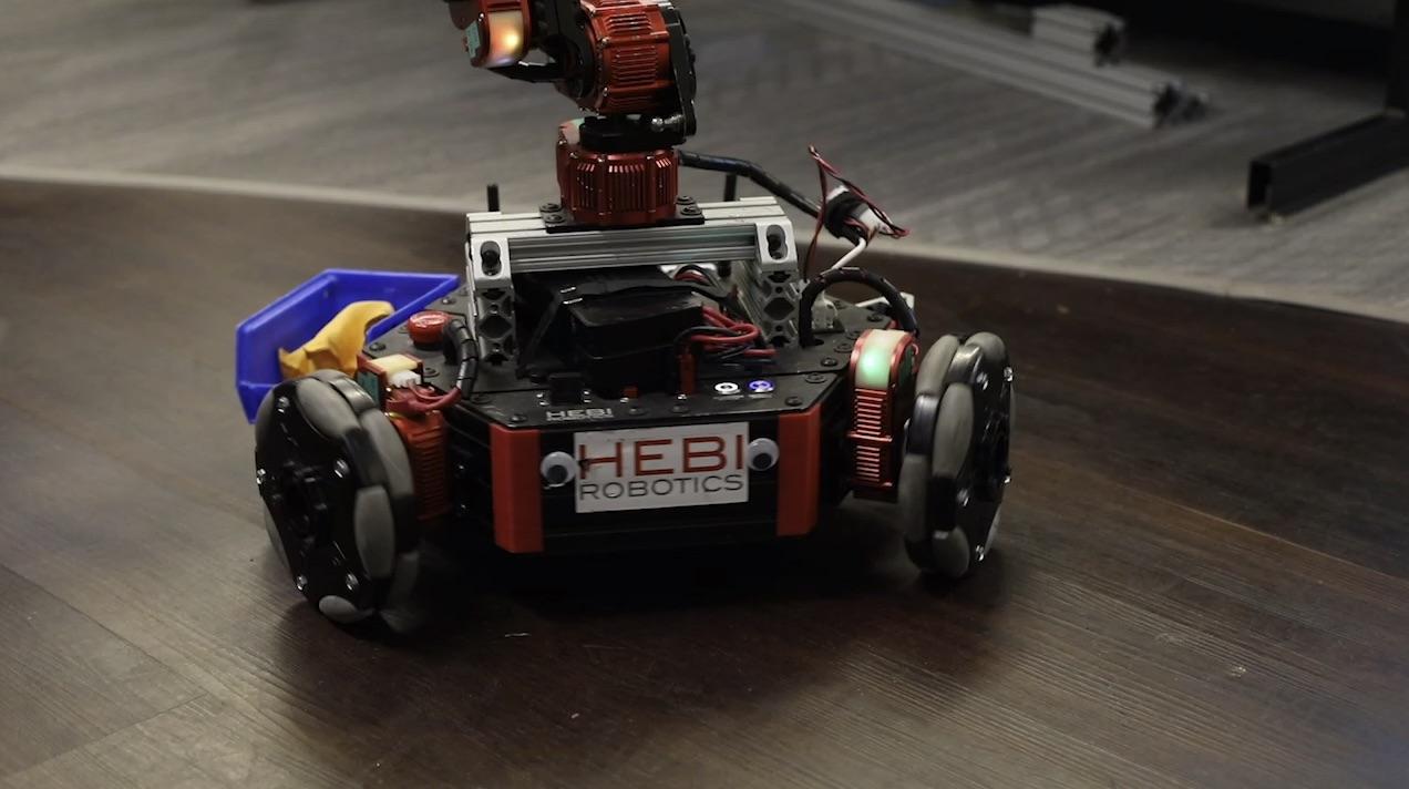 hebi robotics custom robot