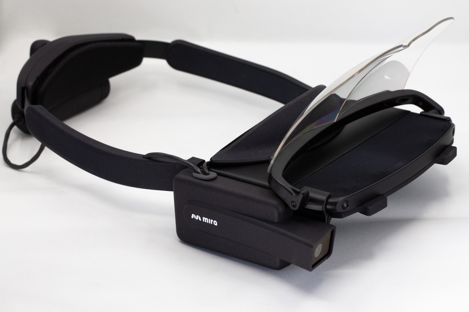 Mira Labs Prism headset, with parts printed using Multi Jet Fusion capabilities