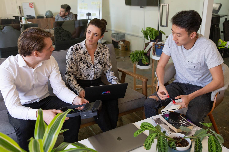 Mira Labs team meeting