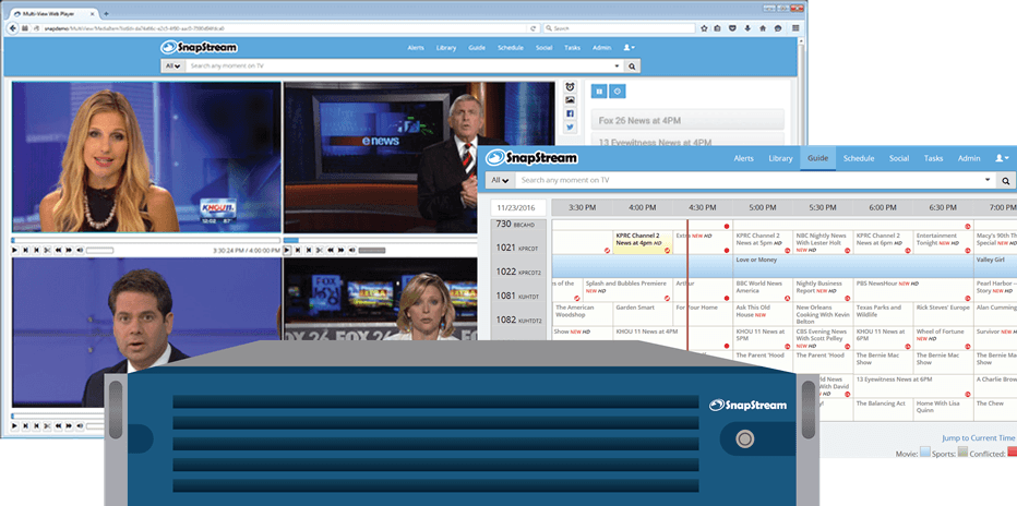 SnapStream: TV Airchecks + Competitive Intelligence