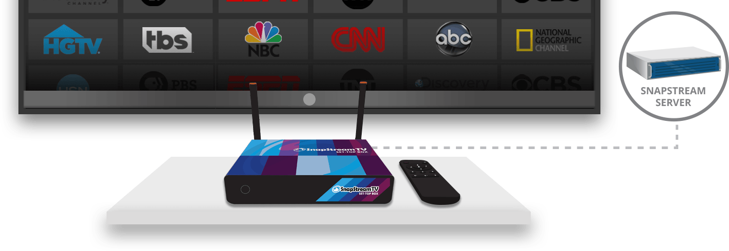 SnapStream TV Set-Top Box