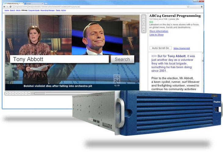 Record, search and monitor TV in Australia