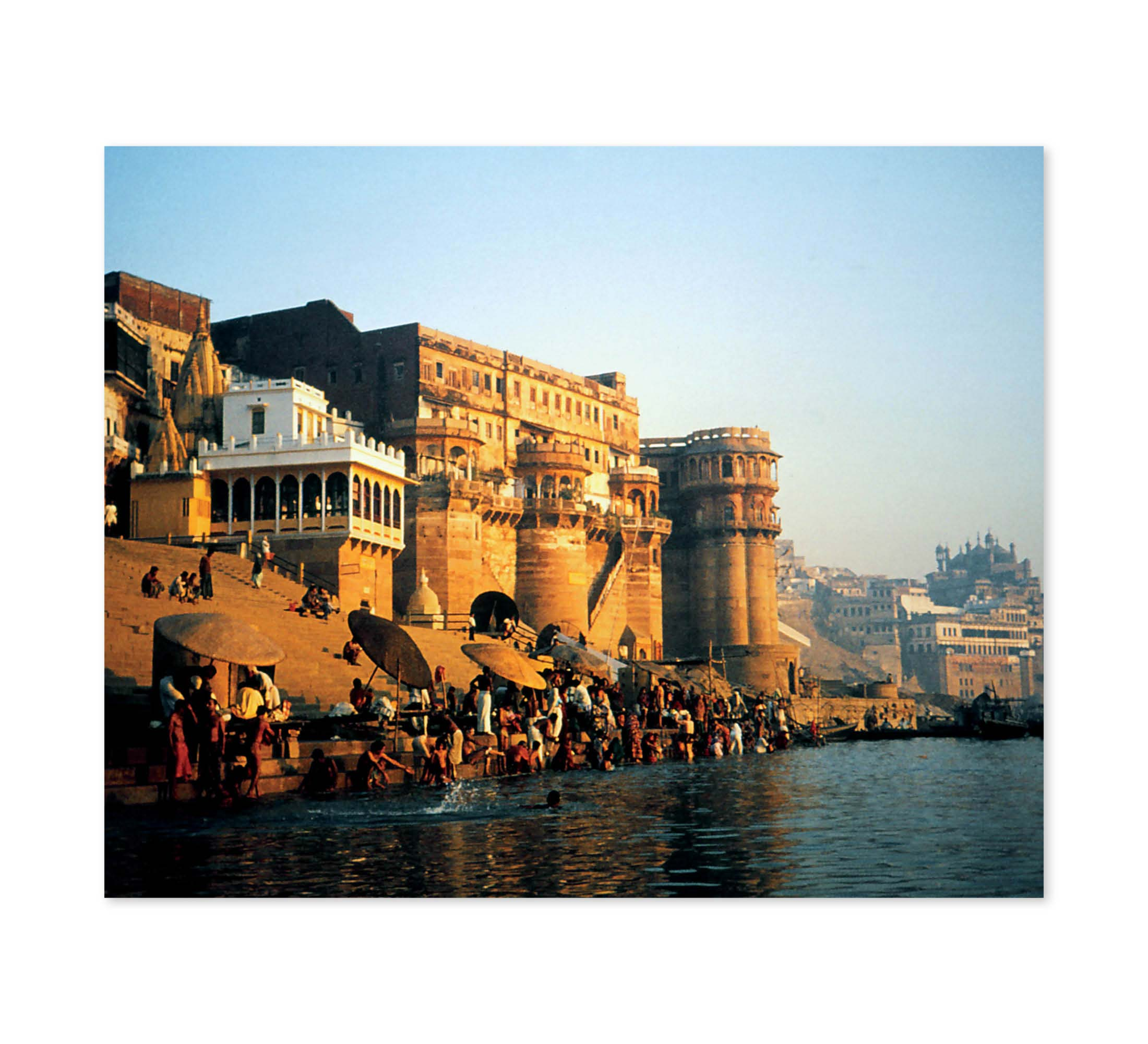 Golden Ganges Print