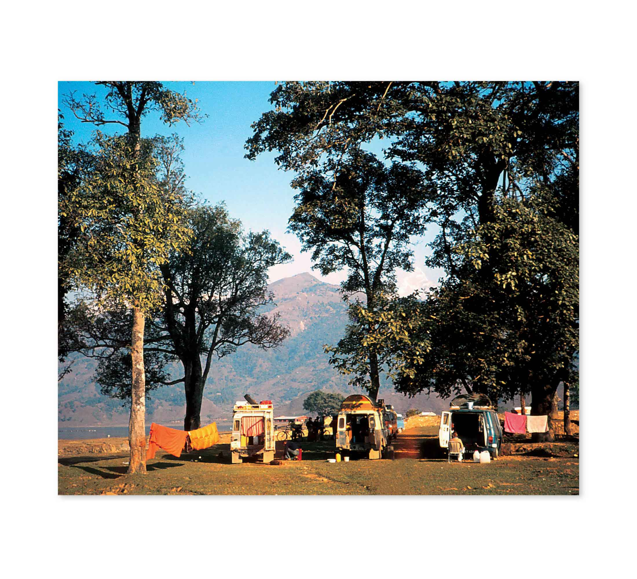 Himalayan Camp Print