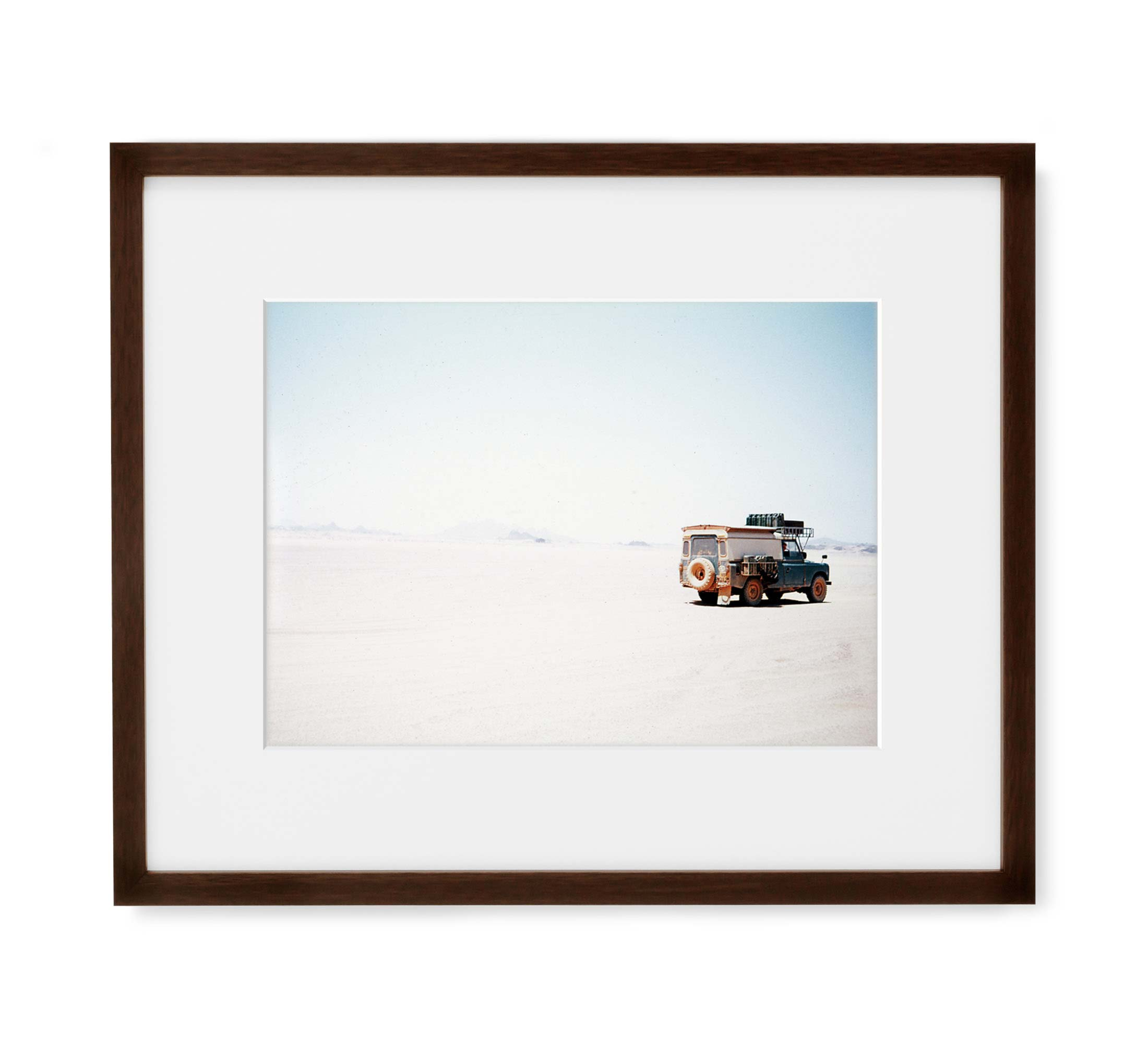 Secluded Sahara Framed Brown Wood