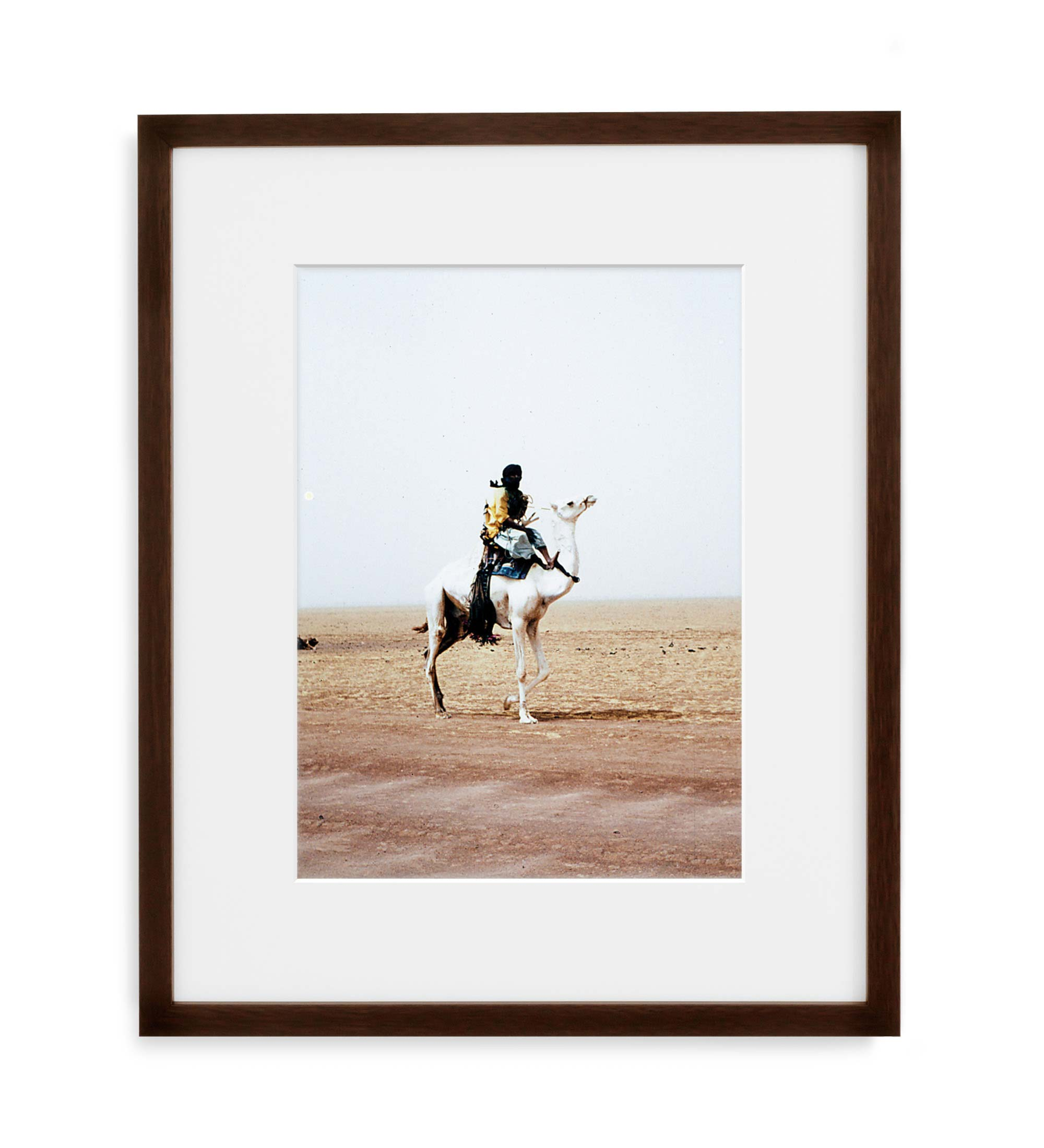 Tuareg Framed Brown Wood