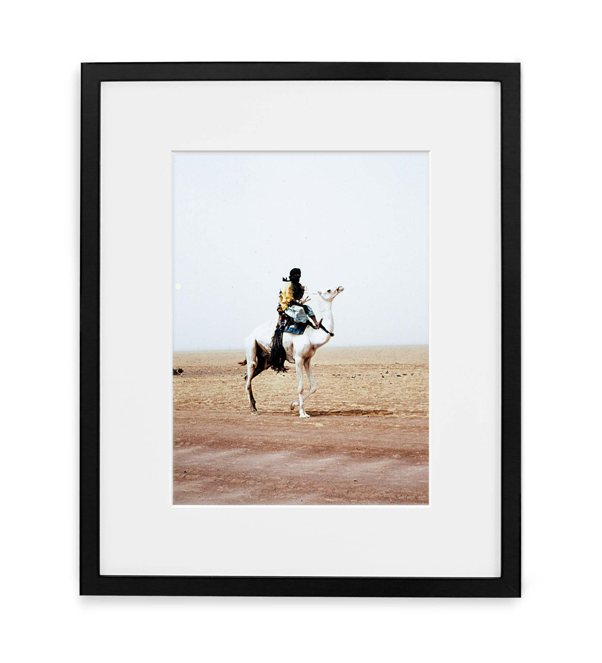 Tuareg Framed Black Wood