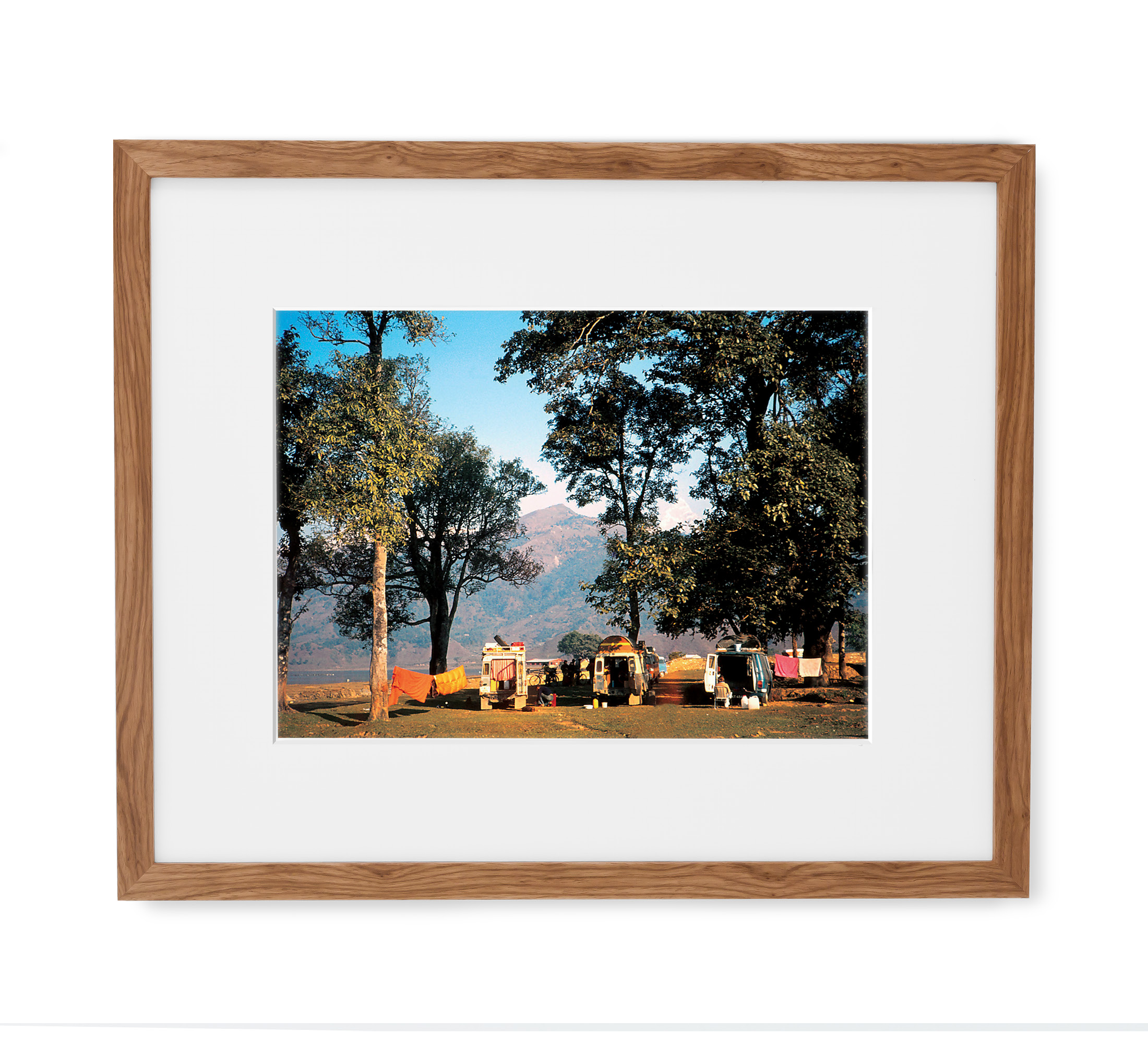 Himalayan Camp Framed Light Wood