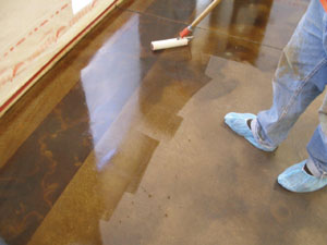 Stained Concrete Sealer