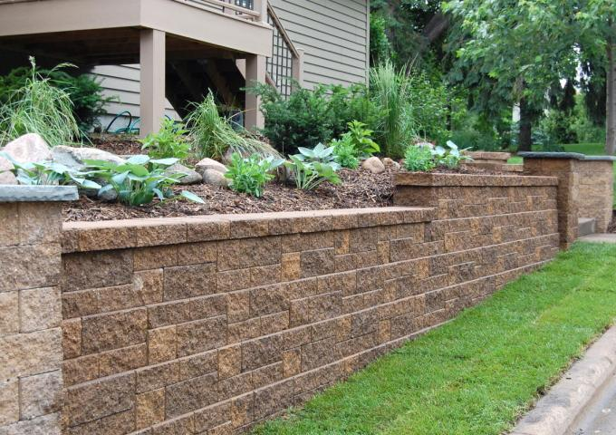 Garden Block Retaining Wall