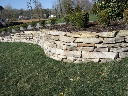 Ledgestone Retaining Walls