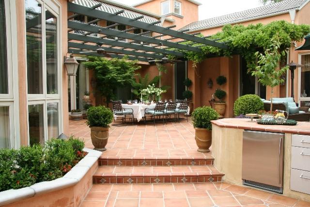 Mediterranean Landscape Design in San Antonio