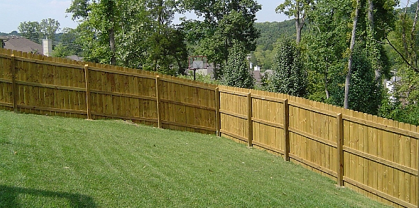 Wooden Fence 6Ft