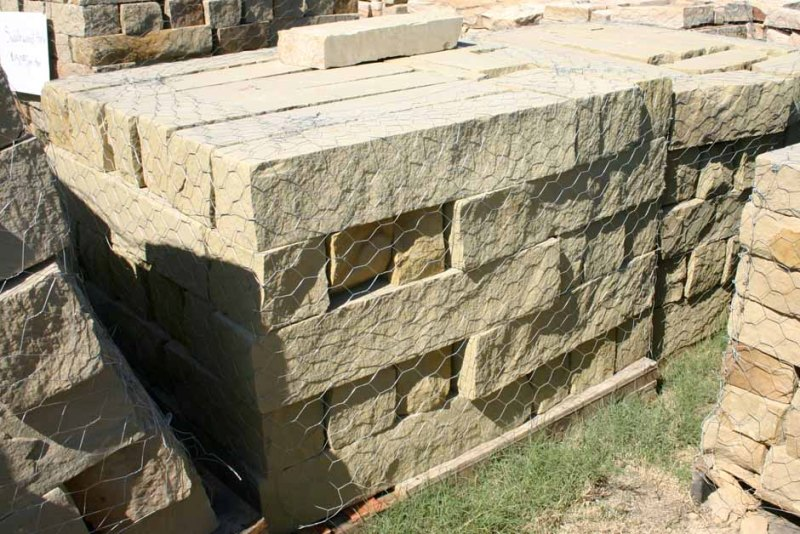 Stone used for Planters in Landscaping