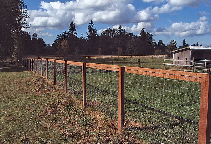 Horse Fences Installed