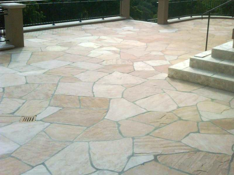 Flagstone Patio installed in San Antonio, TX