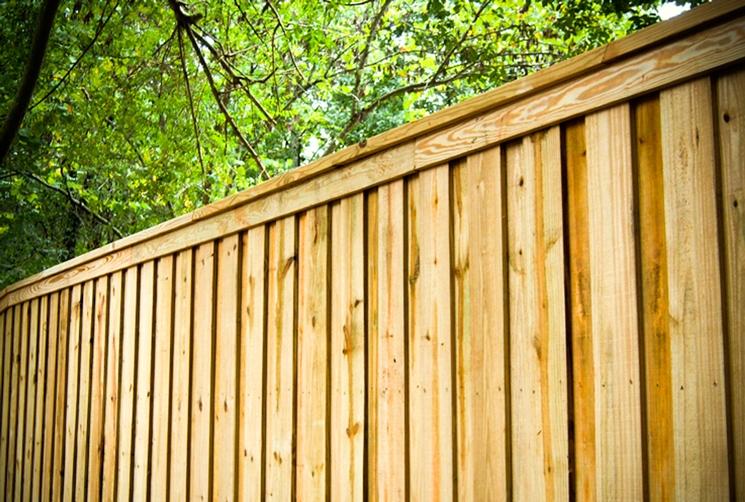 Fence Board on Board Pickets