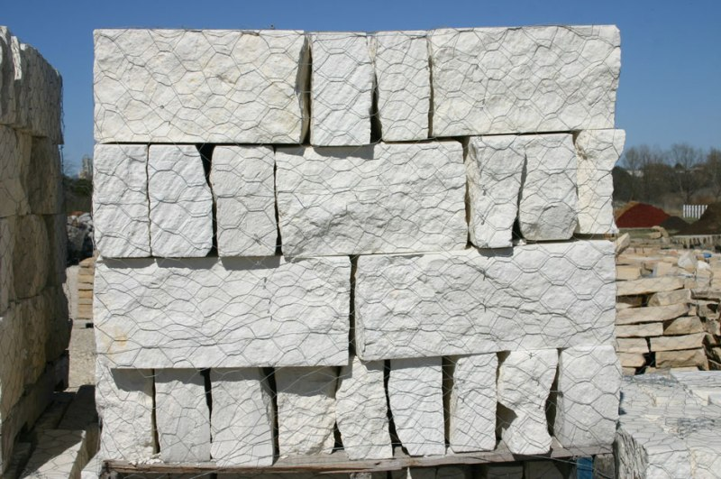 Building Stone used for Planters & Gardens