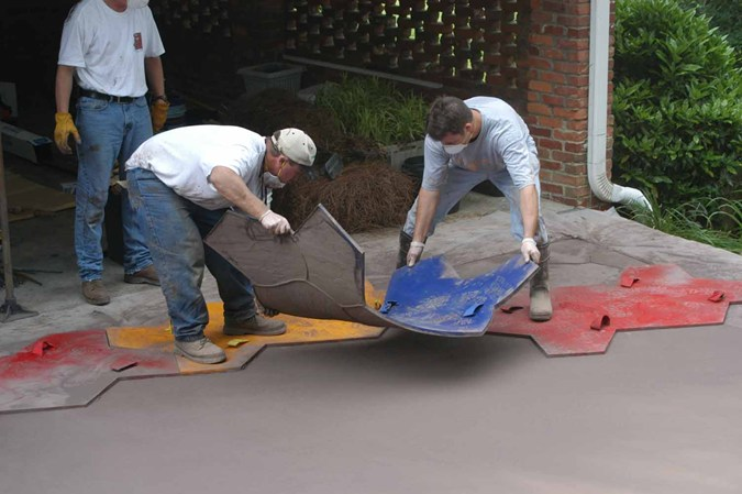 Decorative Concrete Installers in San Antonio