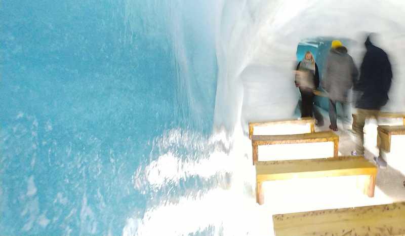 Inside Langjökull glacier