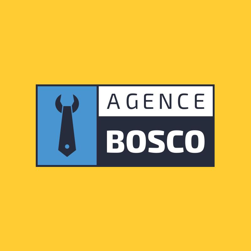 Yobologo Rennes création de logo et identité visuelle pour l'agence bosco installée à Rennes