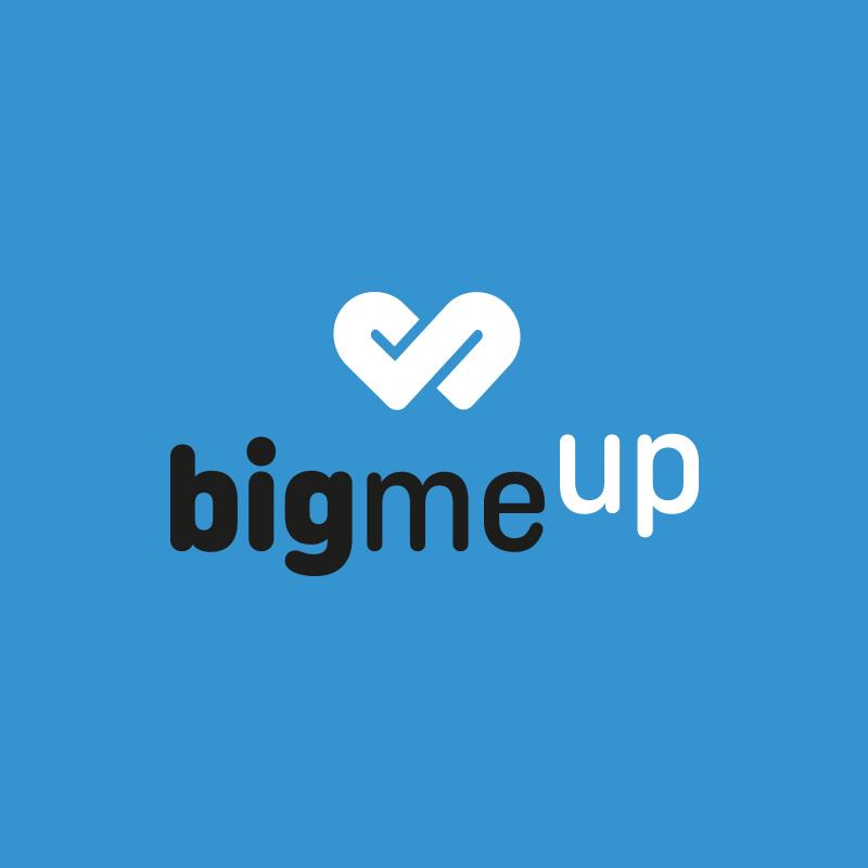 Yobologo Rennes création de logo et identité visuelle pour la startup rennaise Bigmeup